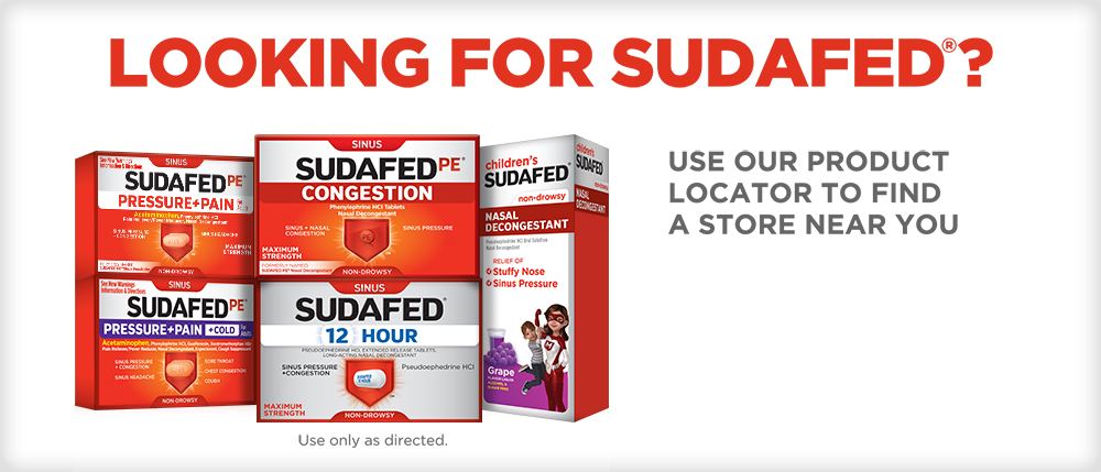 Where to buy Sudafed near you