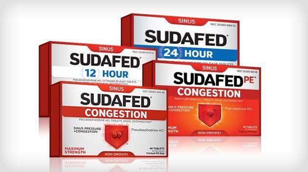 Sudafed Pe Sinus Headache Non-Drowsy Caps, Maximum Strength-48ct