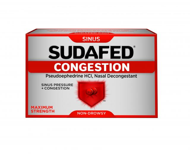 SUDAFED® CONGESTION