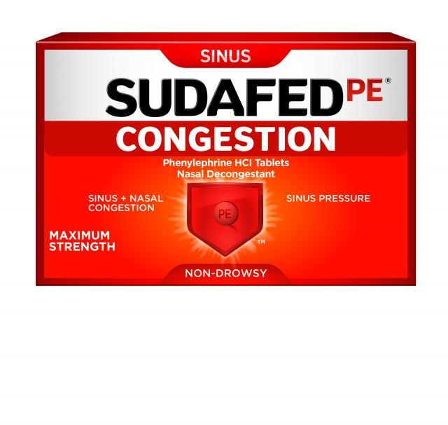 SUDAFED PE® CONGESTION