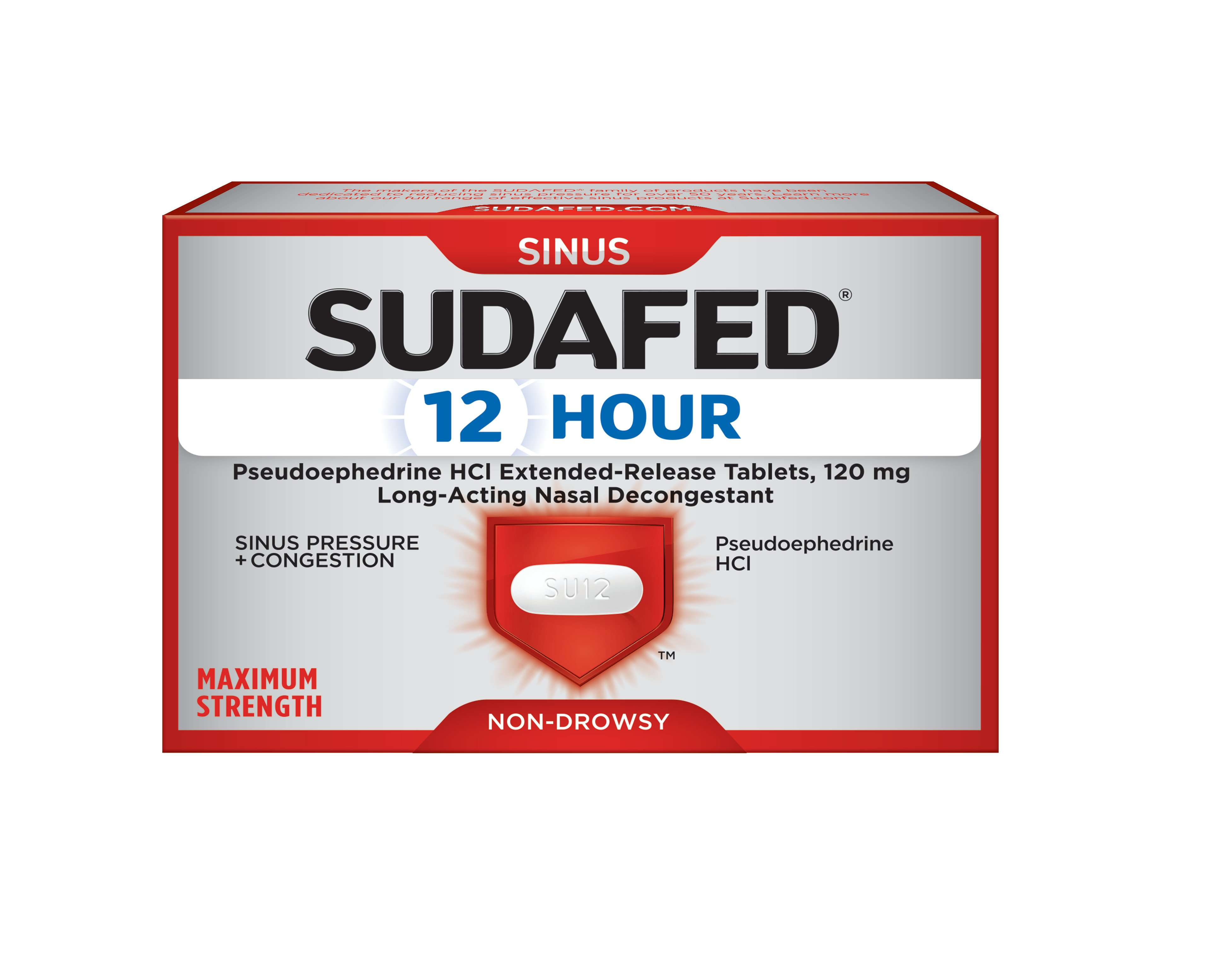 SUDAFED 12 Hour
